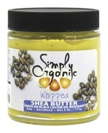 Simply Organic Oils - Shea Butter with Jamaican Black Castor Oil Whipped Rosemary - 4 oz.