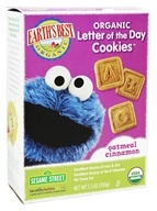 Earth's Best - Organic Letter of the Day Cookies Oatmeal Cinnamon - 5.3 oz.