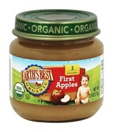 Earth's Best - Organic Baby Food Stage 1 First Apples - 2.5 oz.