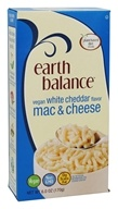 Earth Balance - Vegan Mac and Cheese White Cheddar Flavor - 6 oz.