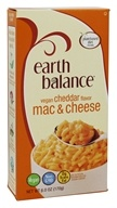 Earth Balance - Vegan Mac and Cheese Cheddar Flavor - 6 oz.