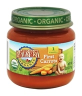 Earth's Best - Organic Baby Food Stage 1 First Carrots - 2.5 oz.