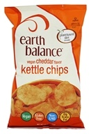 Earth Balance - Gluten Free Kettle Chips Cheddar Flavor - 5 oz.