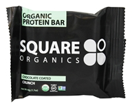 Square Organics - Organic Protein Bar Chocolate Coated Crunch - 1.7 oz.