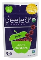 Peeled Snacks - Organic Apple Clusters Berry - 2.1 oz.