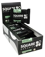 Square Organics - Organic Protein Bar Chocolate Coated Crunch - 12 Bars
