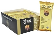 22 Days Nutrition - Organic Protein Bars Box Walnut Fudge Brownie - 12 Bars
