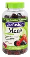 Vitafusion - Men's Complete Multivitamin Natural Berry Flavors - 150 Gummies