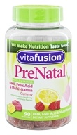 Vitafusion - PreNatal Vitamins Natural Lemon & Raspberry Lemonade Flavors - 90 Gummies