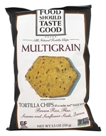 Food Should Taste Good - All Natural Tortilla Chips Multigrain - 5.5 oz.