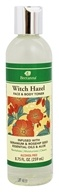 Bretanna - Witch Hazel Face & Body Toner  Infused with Geranium & Rosehip Seed Essential Oilas & Aloe - 8.75 oz.