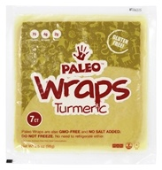 Julian Bakery - Paleo Wraps Turmeric - 3.5 oz.