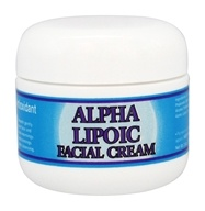 Nature's Vision - Alpha Lipoic Facial Cream - 2 oz.