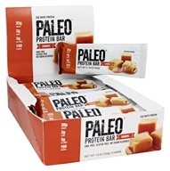 Julian Bakery - Paleo Protein Bar Caramel - 12 Bars