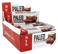 Julian Bakery - Paleo Protein Bar Chocolate Brownie - 12 Bars
