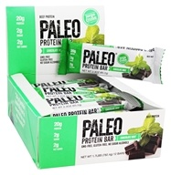 Julian Bakery - Paleo Protein Bar Chocolate Mint - 12 Bars