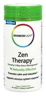 Rainbow Light - Zen Therapy - 90 Tablets (Formerly 3 Way Stress Management)