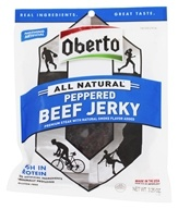 Oberto - All Natural Beef Jerky Peppered - 3.25 oz.