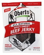 Oberto - All Natural Beef Jerky Spicy Sweet - 3.25 oz.