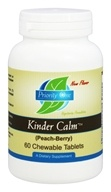 Priority One - Kinder Calm Peach-Berry - 60 Chewable Tablets