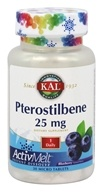 Kal - Pterostilbene ActivMelt Blueberry 25 mg. - 30 Tablets