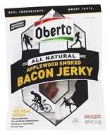 Oberto - All Natural Bacon Jerky Applewood Smoked - 2.5 oz.