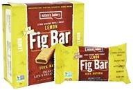Nature's Bakery - 100% Natural Stone Ground Whole Wheat Fig Bars - 6 x 2 oz. Twin Packs Lemon