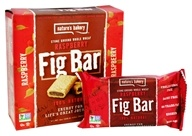 Nature's Bakery - 100% Natural Stone Ground Whole Wheat Fig Bars - 6 x 2 oz. Twin Packs Raspberry