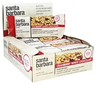 Santa Barbara Bar - Superfood Rich Bars Cranberry White Chocolate - 12 Bars