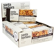 Santa Barbara Bar - Superfood Rich Bars Peanut Chocolate Cherry - 12 Bars
