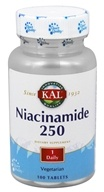 Kal - Niacinamide 250 mg. - 100 Tablets