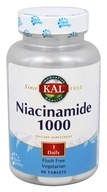 Kal - Niacinamide 1000 mg. - 90 Tablets