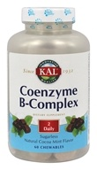 Kal - Coenzyme B-Complex Natural Cocoa Mint - 60 Chewables