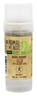 Primal Pit Paste - Natural Deodorant Stick Sensitive Happy Pits - 2 oz.