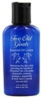 Two Old Goats - Essential Oil Lotion - 2 oz. Formerly Arthritis & Fibromyalgia Essential ...