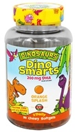 Kal - Dinosaurs Dino Smarts DHA Orange Splash - 90 Chewable Softgels