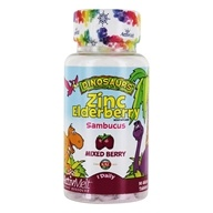 Kal - Dinosaurs Zinc Elderberry Sambucus ActivMelt Mixed Berry - 90 Tablets