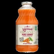 Lakewood - Organic Pure Juice Carrot with Organic Lemon Juice - 32 fl. oz.