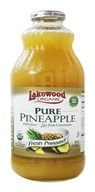 Lakewood - Organic Pure Pineapple Juice - 32 oz.