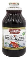 Lakewood - Organic Pomegranate Juice with Blueberry - 32 oz.