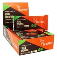 Bulletproof - Gluten-Free Upgraded Collagen Protein Bar Upgraded Chocolate - 12 Bars