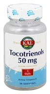 Kal - Tocotrienols 50 mg. - 30 Softgels