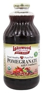 Lakewood - Organic Pomegranate Juice with Cranberry - 32 oz.