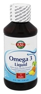 Kal - Omega 3 Liquid Natural Fresh Citrus - 4 oz.