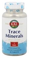 Trace Minerals - 30 Tablets