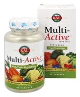 Kal - Multi-Active Iron Free - 60 Tablets
