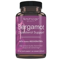 Reserveage Nutrition - Bergamot Cholesterol Support with Resveratrol - 30 Vegetarian Capsules