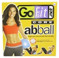 GoFit - Core Ab Ball Blue - 20 cm.
