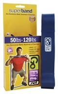 GoFit - Super Band 50-120 lbs. Blue - 41 in.