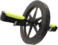 GoFit - Extreme Ab Wheel Black/Green - 14 in.